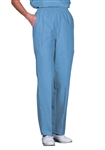 Fashion Seal - Ladies Ciel Blue FB  Fashion Slacks/Pkts. 7867