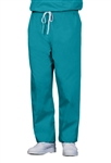 Fashion Seal - Unisex Teal FB Rev DCord Scrub Pant. 7870