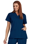 Fashion Seal - Unisex Navy FP Fashion Scrub Shirt. 78744
