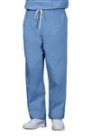 Fashion Seal - Unisex Ciel Blue FB Rev DCord Scrub Pant - TALL. 809