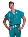 Fashion Seal - Unisex Reversible Teal Classic-fit Scrub Set. FS-SCRUBSET05