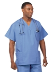 Fashion Seal - Unisex Multiple Utility Pocket Ciel Scrub Set . FS-SCRUBSET26