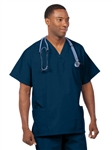 Fashion Seal - Unisex Multiple Utility Pocket Navy Scrub Set . FS-SCRUBSET27