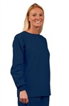 Fashion Seal - Unisex Navy Long Slv No Pkt Scrub Set. FS-SCRUBSET33