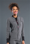 Smitten -  Women's Tour Rib Front Warm-Up Jacket. S303008