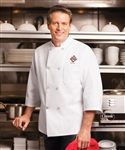 Red Kap - Men's 3/4-Sleeve Chef Coat. 0402WH
