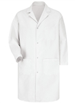 Red Kap - Men's White Lab Coat. 5080WH