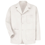 Red Kap - Men's Three Button Label Counter Coat. KP10WH