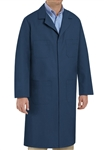 Red Kap - Men's Navy Shop Coat. KT30NV