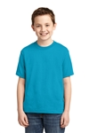 JERZEES - Youth 50/50 Cotton/Poly T-Shirt. 29B