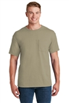 JERZEES - 50/50 Cotton/Poly Pocket T-Shirt. 29MP