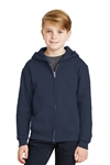 JERZEES - Youth NuBlend Full-Zip Hooded Sweatshirt. 993B