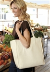 Port & Company - Over-the-Shoulder Grocery Tote. B110