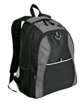 Port Authority - Contrast Honeycomb Backpack. BG1020