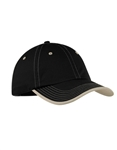 Port Authority  - Vintage Washed Contrast Stitch Cap.  C835