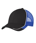 Port Authority - Colorblock Mesh Back Cap. C904