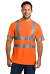 CornerStone - ANSI Class 3 Short Sleeve Snag-Resistant Reflective T-Shirt. CS408
