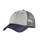 District - Tri-Tone Mesh Back Cap. DT616