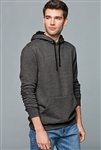 District - Young Mens The Concert Fleece Hoodie. DT810