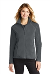 Eddie Bauer - Ladies Full-Zip Microfleece Jacket. EB225