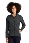 Eddie Bauer - Ladies Shaded Crosshatch Soft Shell Jacket. EB533