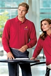 "Port Authority - Long Sleeve Silk Touchâ""¢ Polo. K500LS"