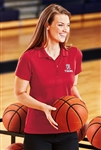 Sport-Tek - Ladies Dry Zone Raglan Accent Polo. L475