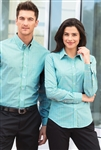Port Authority - Ladies Long Sleeve Gingham Easy Care Shirt. L654