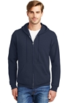 Hanes - ComfortBlend EcoSmart Full-Zip Hooded Sweatshirt. P180