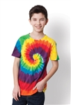 Port & Company - Youth Essential Tie-Dye Tee. PC147Y