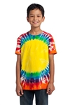 Port & Company - Youth Essential Window Tie-Dye Tee. PC149Y