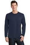 Port & Company - Long Sleeve Fan Favorite Tee. PC450LS