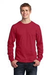 Port & Company - Long Sleeve 5.4-oz. 100% Cotton T-Shirt. PC54LS