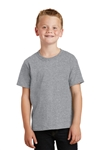 Port & Company - Youth 5.4-oz 100% Cotton T-Shirt. PC54Y