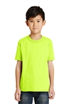 Port & Company - Youth 50/50 Cotton/Poly T-Shirt. PC55Y
