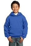 Port & Company - Youth Pullover Hooded Sweatshirt. PC90YH
