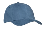 Port Authority  - Garment Washed Cap.  PWU