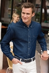 Port & Company - Long Sleeve Value Denim Shirt. SP10