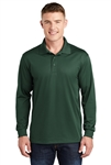 Sport-Tek - Long Sleeve Micropique Sport-Wick Polo. ST657
