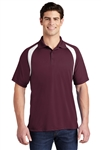 Sport-Tek - Dry Zone Colorblock Raglan Polo. T476