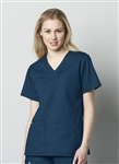 WonderWink - WonderWORK Women's V-Neck Scrub Top. 101