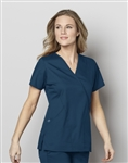 WonderWink - WonderWORK Women's Mock Wrap Scrub Top. 102
