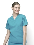 WonderWink - Origins Alpha Unisex V-neck Scrub Top. 6006