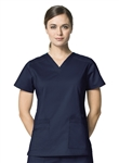 WonderWink - WonderFLEX Vertify Women's V-neck Scrub Top. 6108