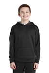 Sport-Tek - Youth Sport-Wick® Fleece Colorblock Hooded Pullover. YST235