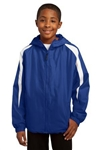 Sport-Tek - Youth Fleece-Lined Colorblock Jacket. YST81