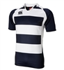 CANTERBURY HOOPED CHALLENGE JERSEY - NAVY/WHITE