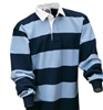"Barbarian Casual Navy / Powder 4"" Stripe"