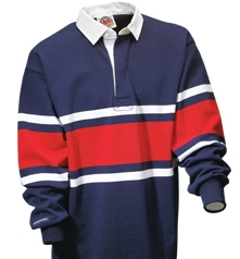 Barbarian Classic Navy / White / Red Collegiate Stripe