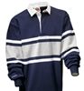 Barbarian Classic Navy / White / Ash Collegiate Stripe